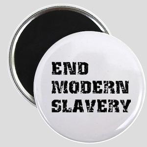 End Modern Slavery Magnet