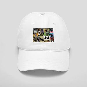 Black Schnauzer Collage Cap