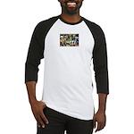 Black Schnauzer Collage Baseball Jersey