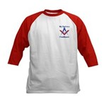 Pop is a Freemason Kids Baseball Jersey