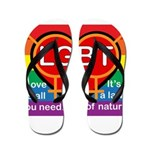 LGBT Marriage Flip Flops