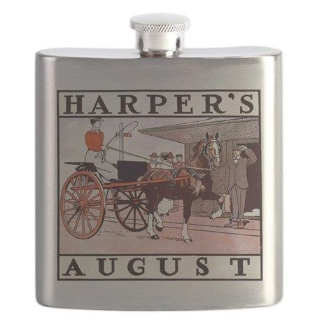 Harpers August Flask