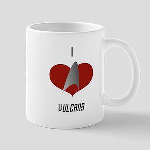 I Love Vulcans Mug