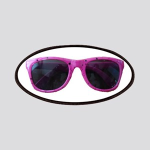 HOT PINK SUNGLASSES Patches