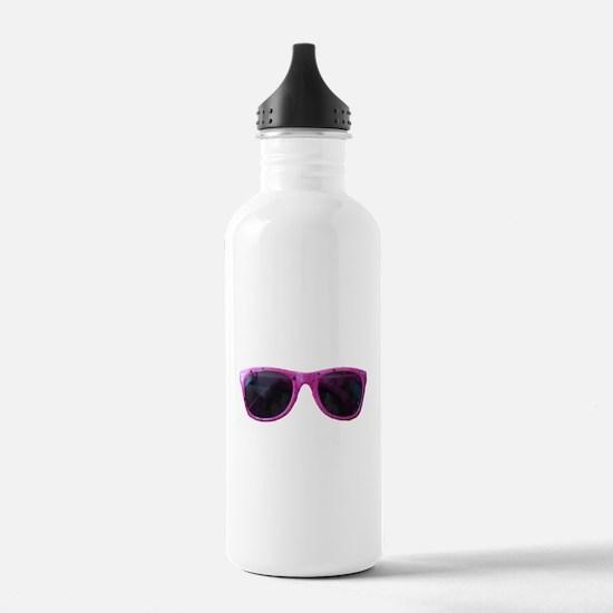 HOT PINK SUNGLASSES Water Bottle