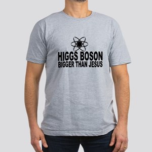 Higgs Boson Bigger Than Jesus Men's Fitted T-Shirt