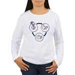 Liberty Money Tyranny Women's Long Sleeve T-Shirt