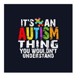 Autism Thing Square Car Magnet 3