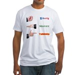 Liberty Money Tyranny The Game Fitted T-Shirt