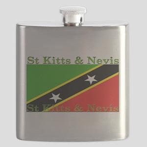 StKittsNevis Flask
