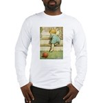 Toddler With A Ball Long Sleeve T-Shirt