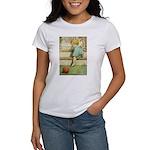 Toddler With A Ball Women's T-Shirt