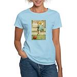 Toddler With A Ball Women's Light T-Shirt