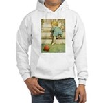 Toddler With A Ball Hooded Sweatshirt