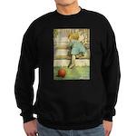 Toddler With A Ball Sweatshirt (dark)