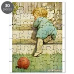 Toddler With A Ball Puzzle