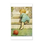 Toddler With A Ball 20x12 Wall Decal