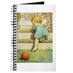 Toddler With A Ball Journal
