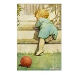 Toddler With A Ball Postcards (Package of 8)