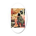 Sleeping Beauty 35x21 Oval Wall Decal