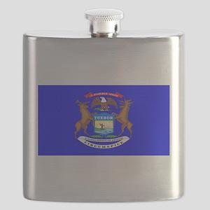 Michiganblank Flask