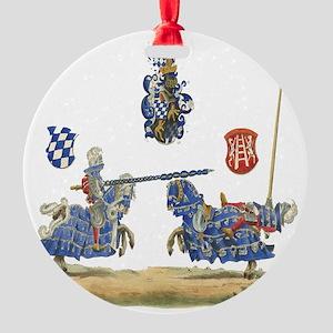 Knights1 Round Ornament