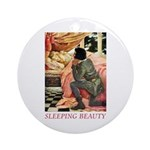Sleeping Beauty Ornament (Round)
