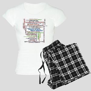 Proud Math Teacher Women's Light Pajamas