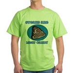 Steaks are Meat Candy Green T-Shirt