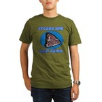 Steaks are Meat Candy Organic Men's T-Shirt (dark)