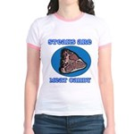 Steaks are Meat Candy Jr. Ringer T-Shirt