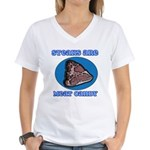 Steaks are Meat Candy Women's V-Neck T-Shirt