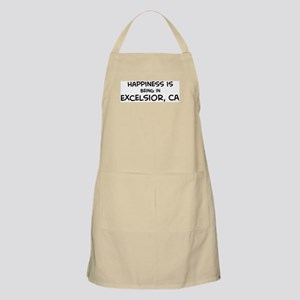Excelsior - Happiness BBQ Apron