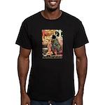 Sleeping Beauty Men's Fitted T-Shirt (dark)