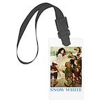 Snow White Large Luggage Tag