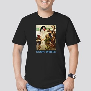 Snow White Men's Fitted T-Shirt (dark)