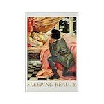 Sleeping Beauty Rectangle Magnet