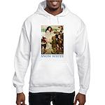 Snow White Hooded Sweatshirt