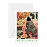 Sleeping Beauty Greeting Cards (Pk of 10)