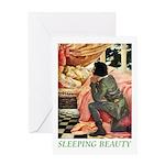 Sleeping Beauty Greeting Card