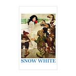 Snow White Sticker (Rectangle)