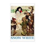 Snow White Mini Poster Print