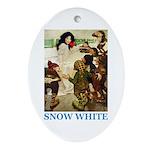 Snow White Ornament (Oval)