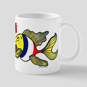 French Flag Fish Fabspark Mug