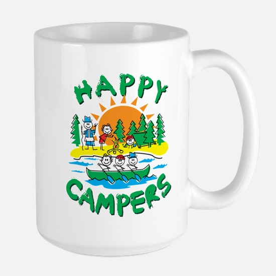 Happy Campers Large Mug