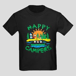 Happy Campers Kids Dark T-Shirt