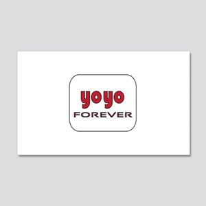 Yoyo Forever 20x12 Wall Decal
