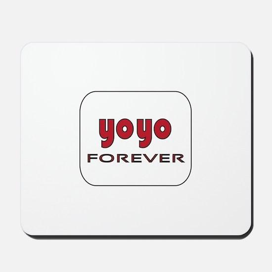 Yoyo Forever Mousepad