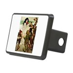 Snow White Rectangular Hitch Cover