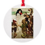 Snow White Round Ornament